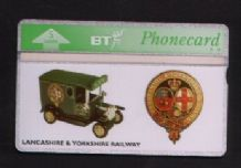 Phonecards BT Telephone card  Lancs & Yorks Railway #077